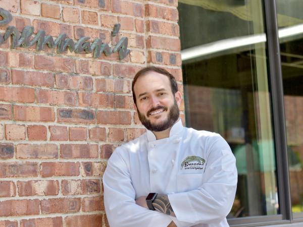 Matt Staph Brennan's chef
