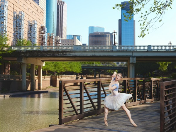 Houston Ballet principal Jessica Collado