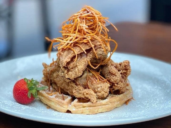 The Rim chicken & Waffles