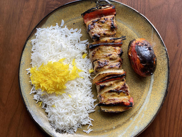 Rumi's Kitchen kebabs