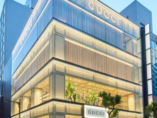 Gucci store in Japan