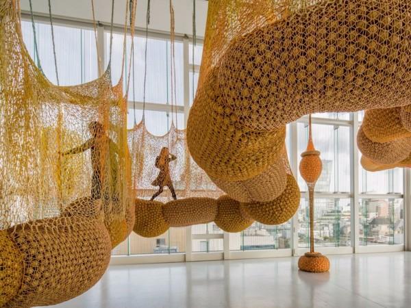 "Museum of Fine Arts, Houston presents Ernesto Neto: ""SunForceOceanLife"""