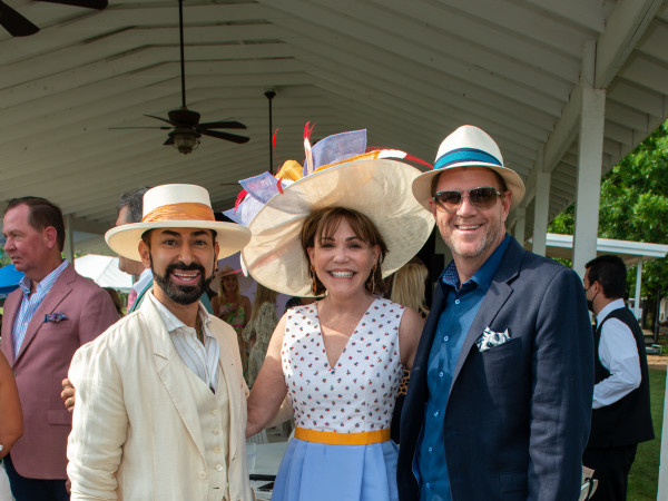 Bo's Place Kentucky Derby 2021 Houston Polo Club Fady Armanious Hallie Vanderhider Bill Baldwin