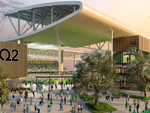 Q2 Stadium rendering