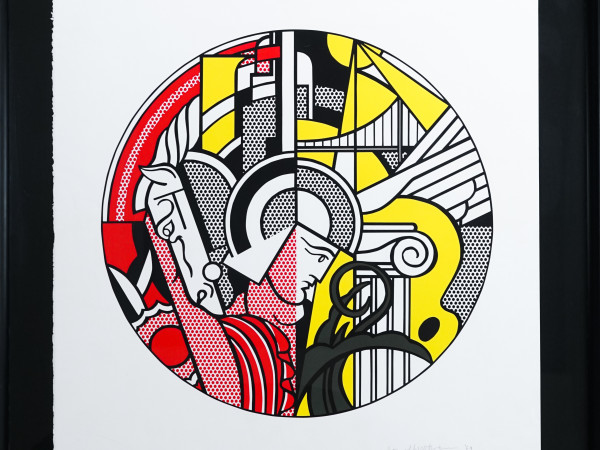 Lichtenstein screenprint