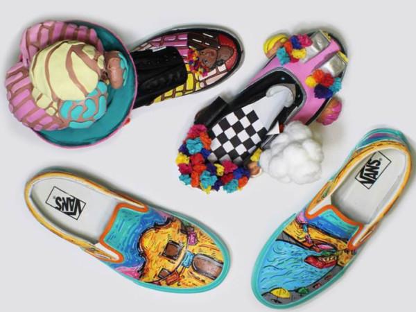 Edison High School Vans shoes