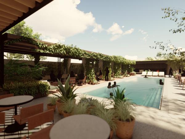 Pershing pool rendering
