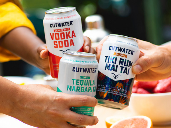 Cutwater Spirits canned cocktails