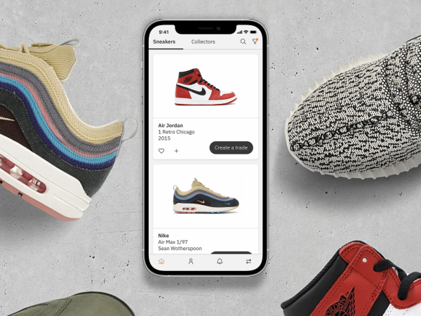 tradeblock sneaker app