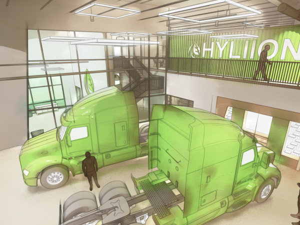 Hyliion rendering