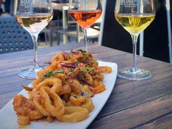 wine calamari