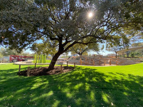 Waterloo Park Kitty King Powell Lawn Austin