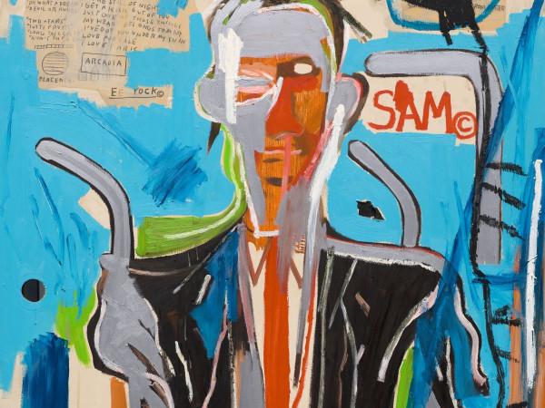 Jean-Michel Basquiat, Sam F, 1985