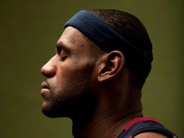 "LeBron James, ""Men of Change,"" African American Museum"