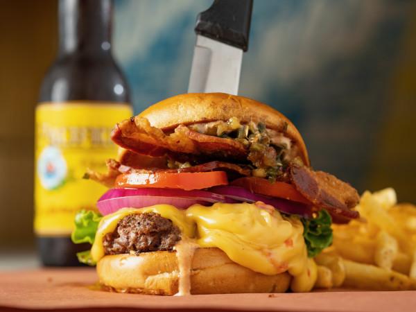 Palace Social burger