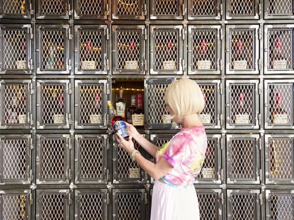 Eight Row Flint whiskey locker