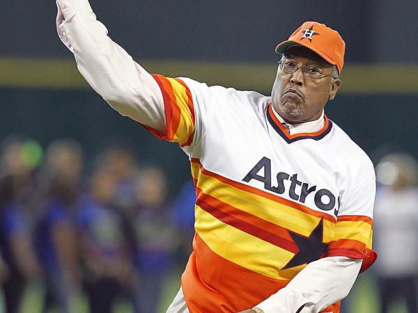 J. R. Richard Houston Astros pitcher