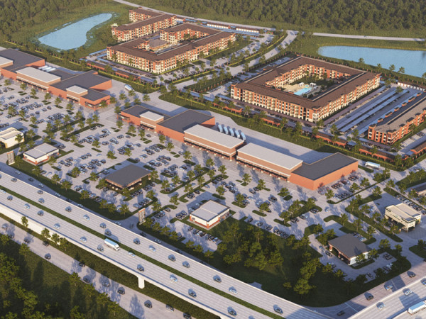 Fort Bend Town Center rendering