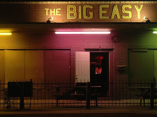 The Big Easy blues club exterior
