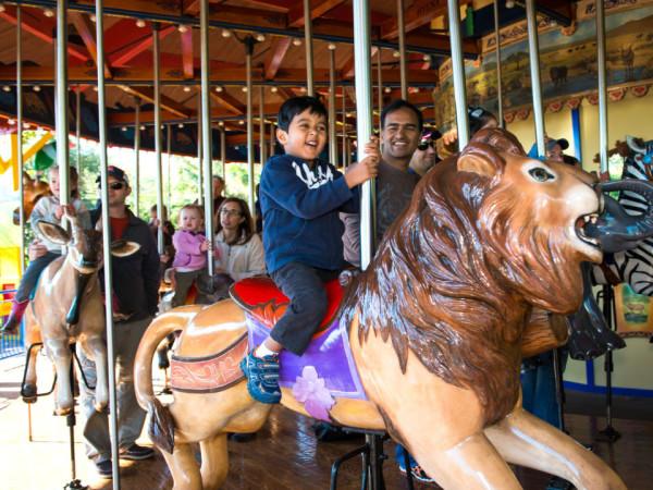 Houston Zoo carousel
