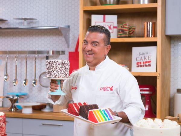 Buddy Valastro cake slice ghost kitchen