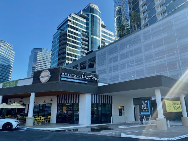 Original ChopShop Galleria exterior