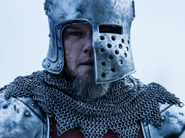 Matt Damon in The Last Duel