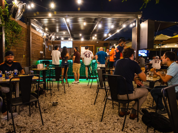 Monkey's Tail patio Astros specials