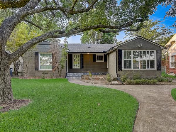 6312 Malcolm Dallas home for sale