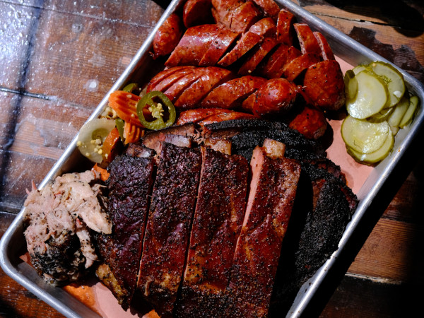 Truth barbecue bbq tray