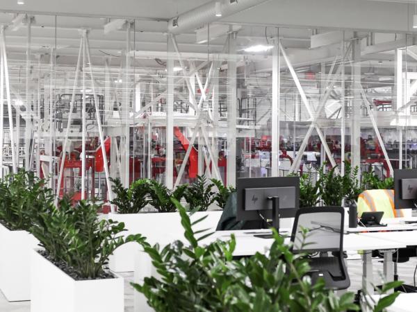 Tesla office space