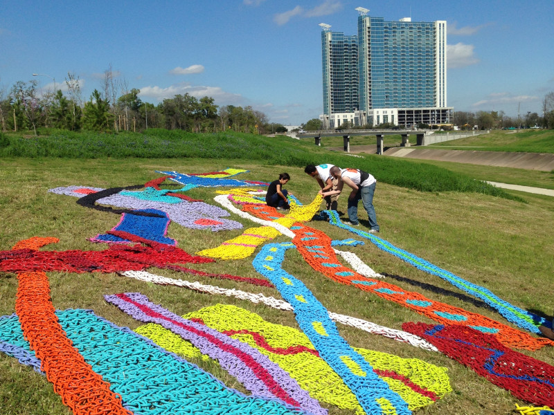 Roses In Garden: Hermann Park's Art In The Park Opening: Boys Cry Too By