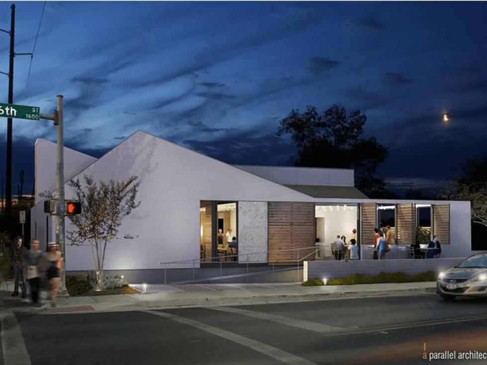 Paul Qui's flagship restaurant, Qui
