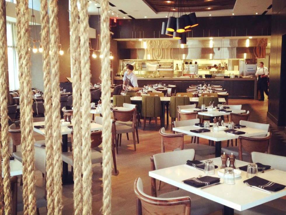 Stella San Jac Austin restaurant Westin interior 2015