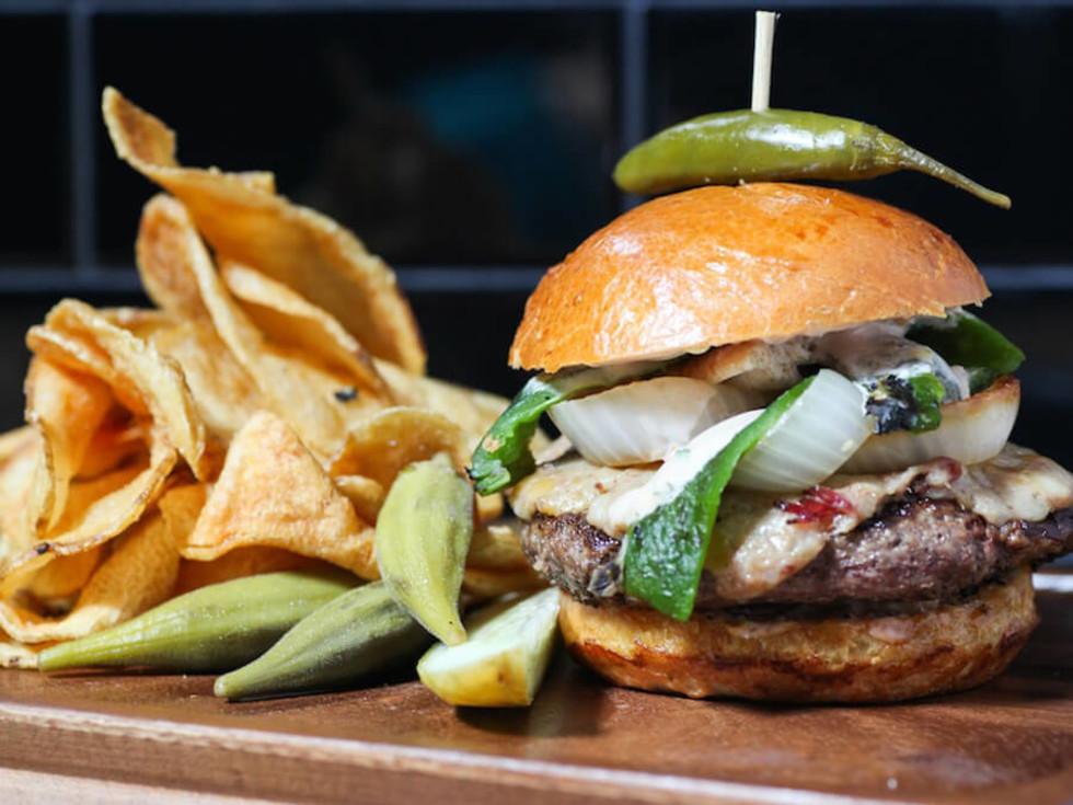 The Rustic burger