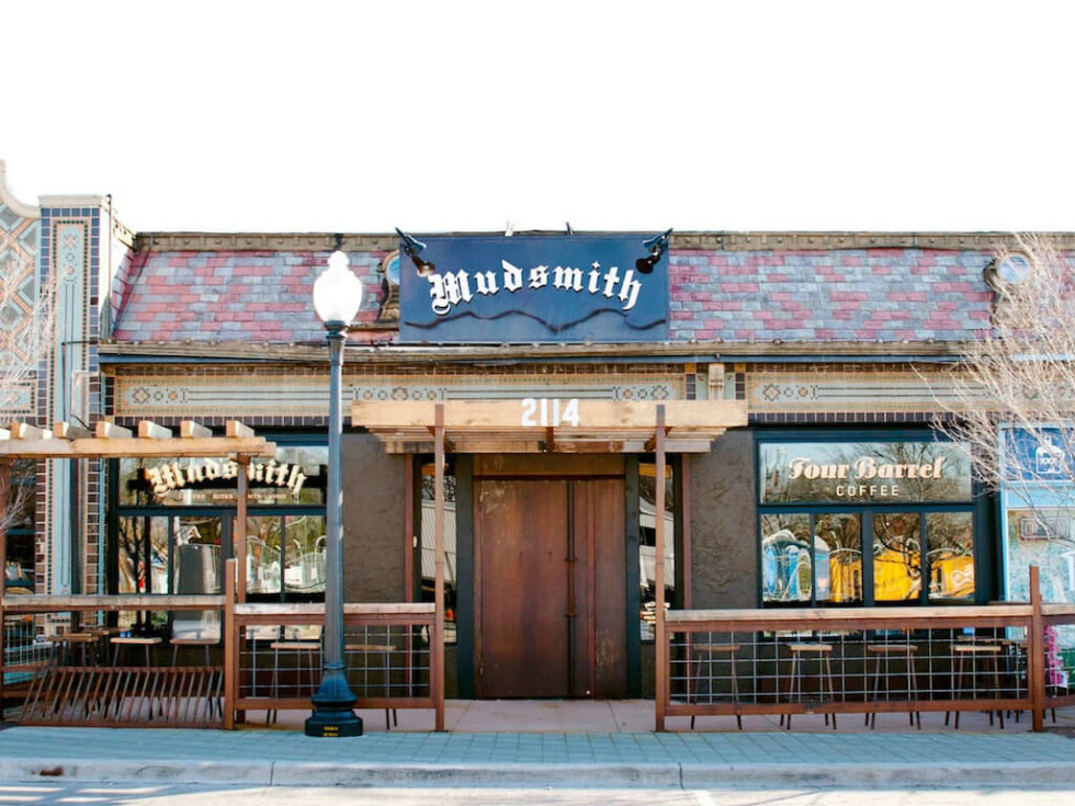 Mudsmith coffee shop in Dallas