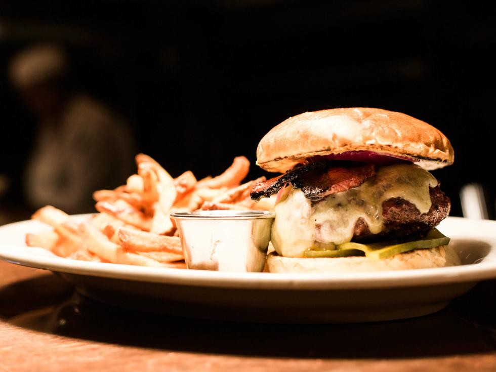 Burger at Hibiscus in Dallas