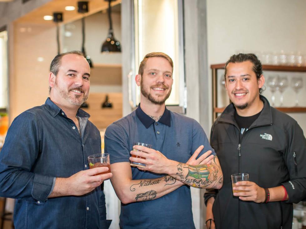 Danny Caffall, Alex Fletcher, Christian Armando
