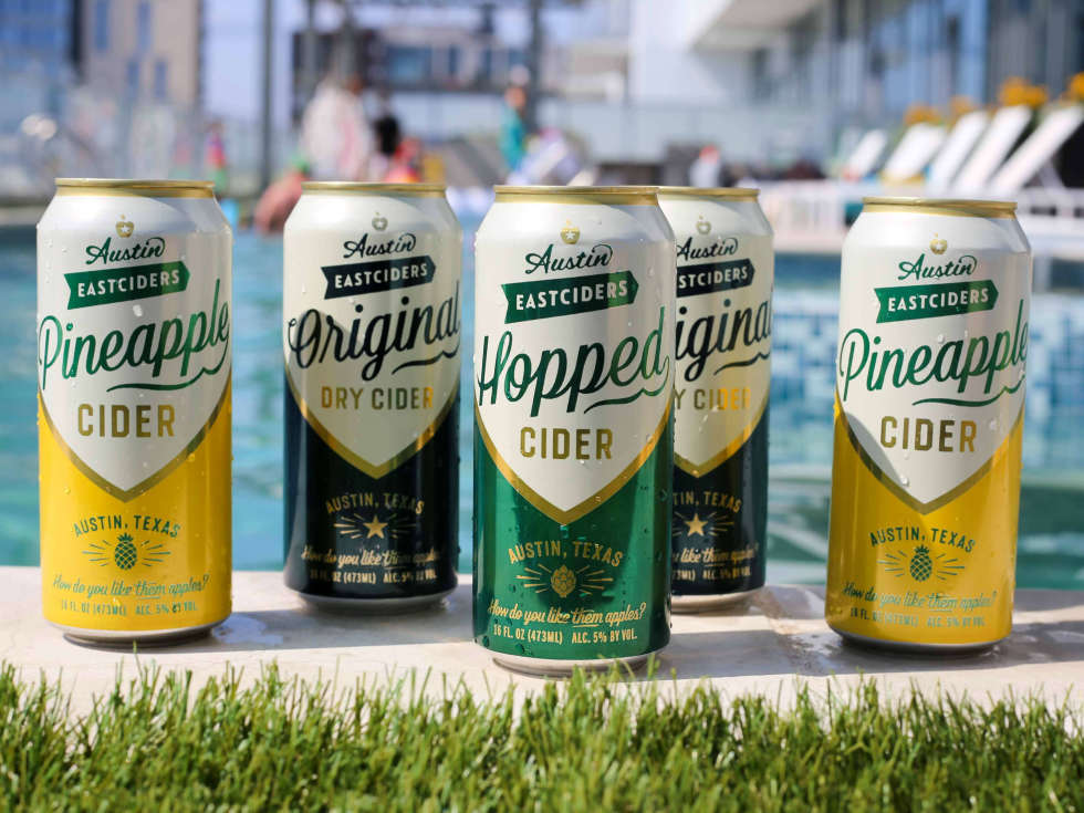 Austin Easciders lineup pool Hopped Pineapple Original