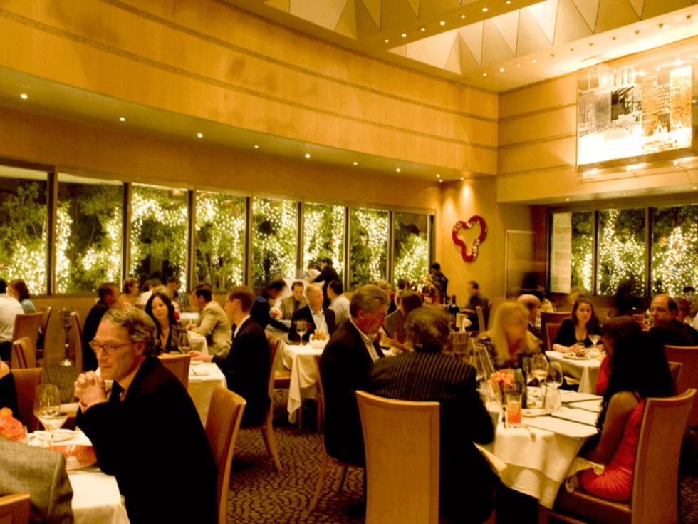 Tony's restaurant interior