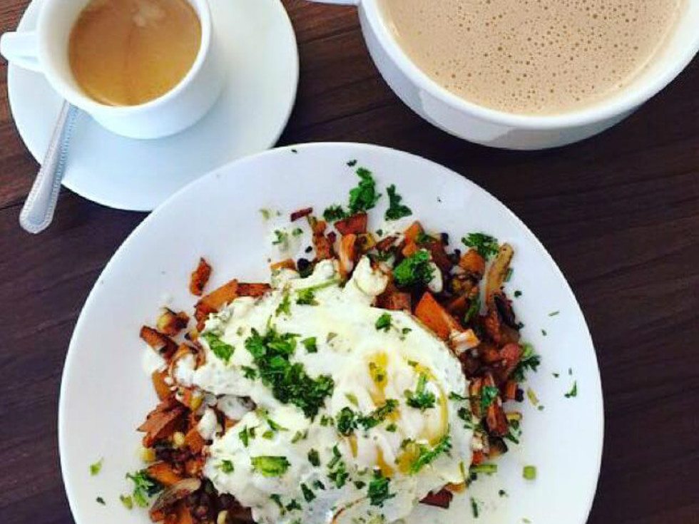 Barrio Barista eggs and coffee San Antonio