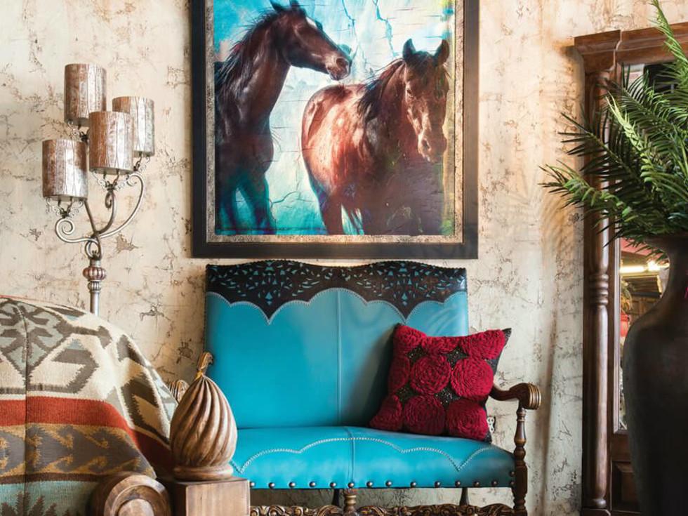 Rios Interiors furniture store in Fort Worth