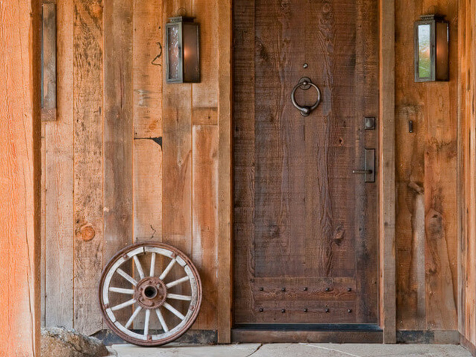 Rustic home elements Houzz