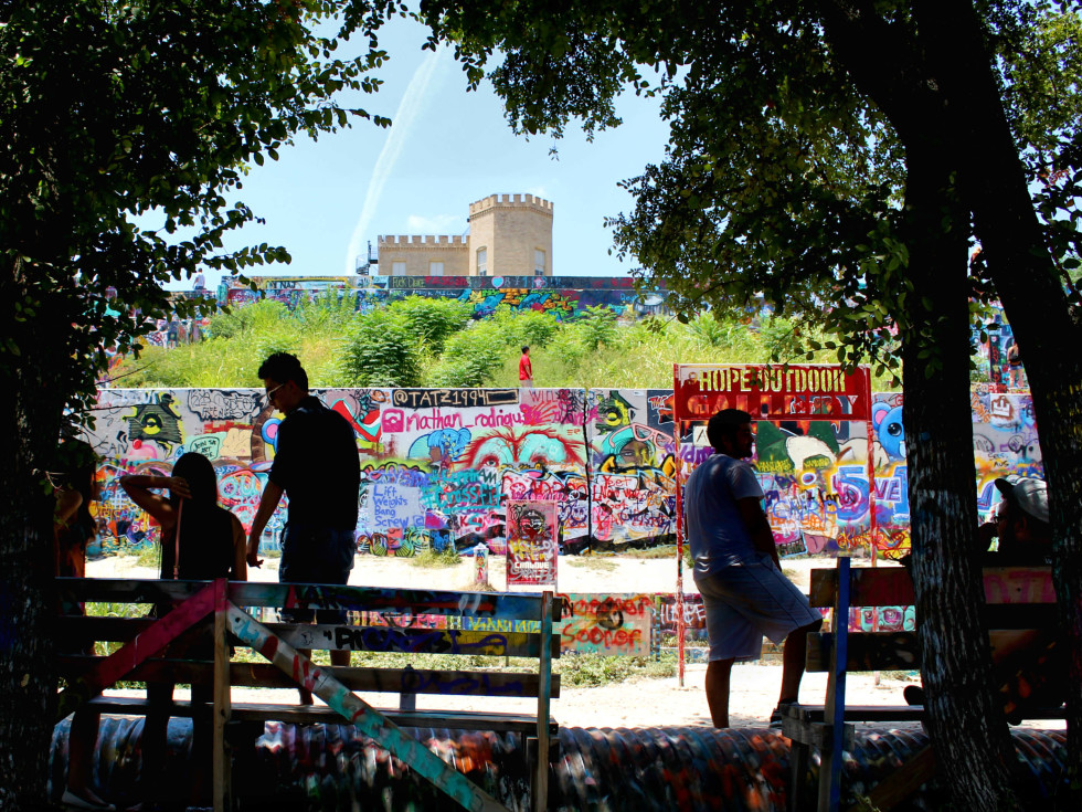 HOPE Outdoor Gallery Castle Hill grafitti park