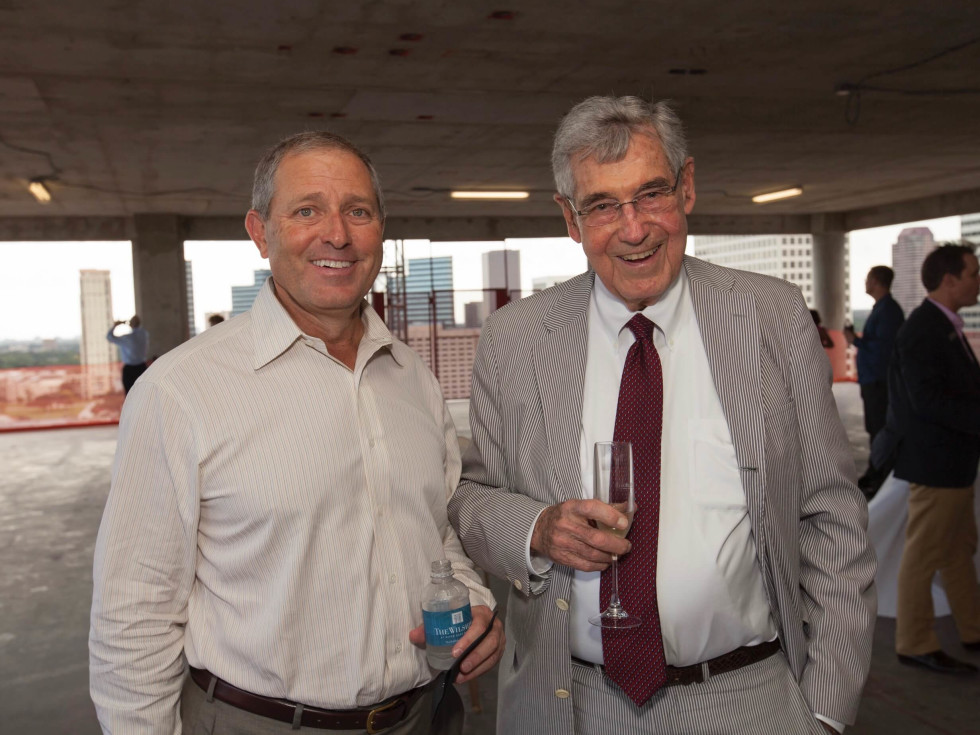 Wilshire Topping Out, July 2016,  Bob Weylandt, Robert Bland