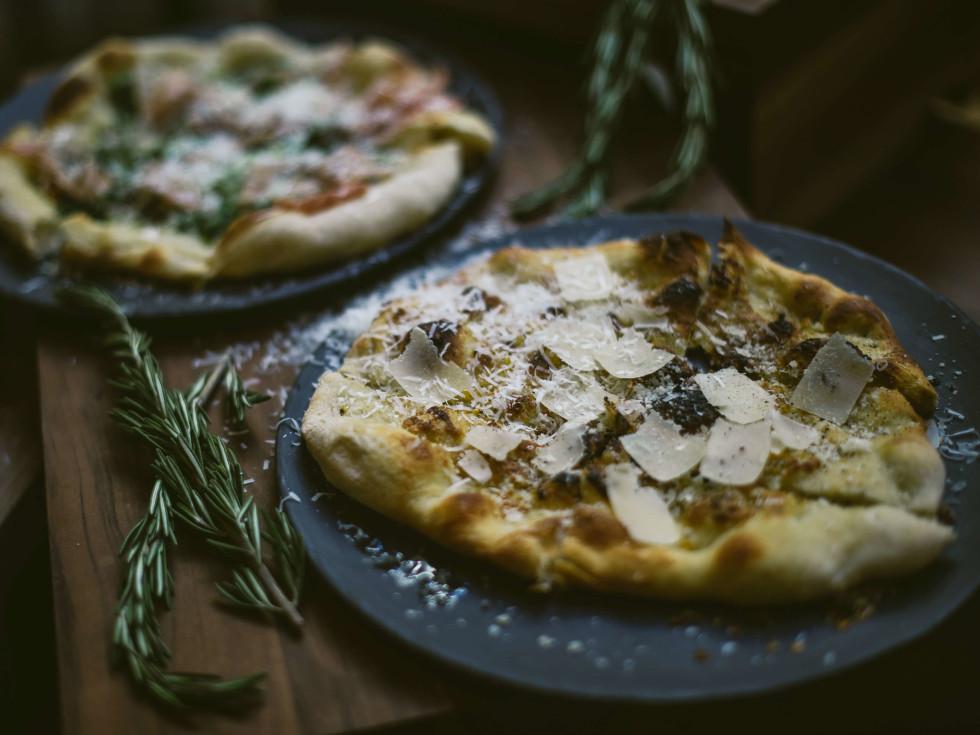 Visconti Ristorante Hotel Granduca Austin pizza