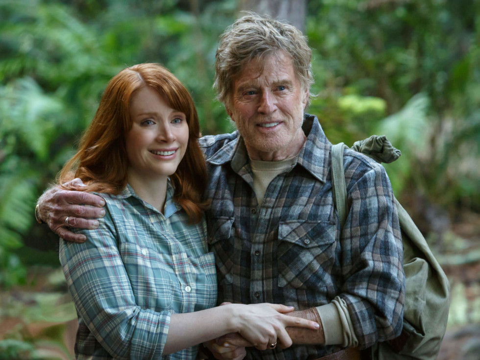 Bryce Dallas Howard and Robert Redford in Pete's Dragon