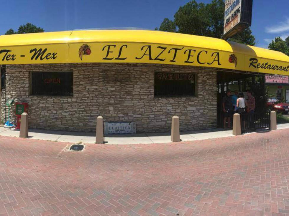 El Azteca Mexican restaurant East Austin