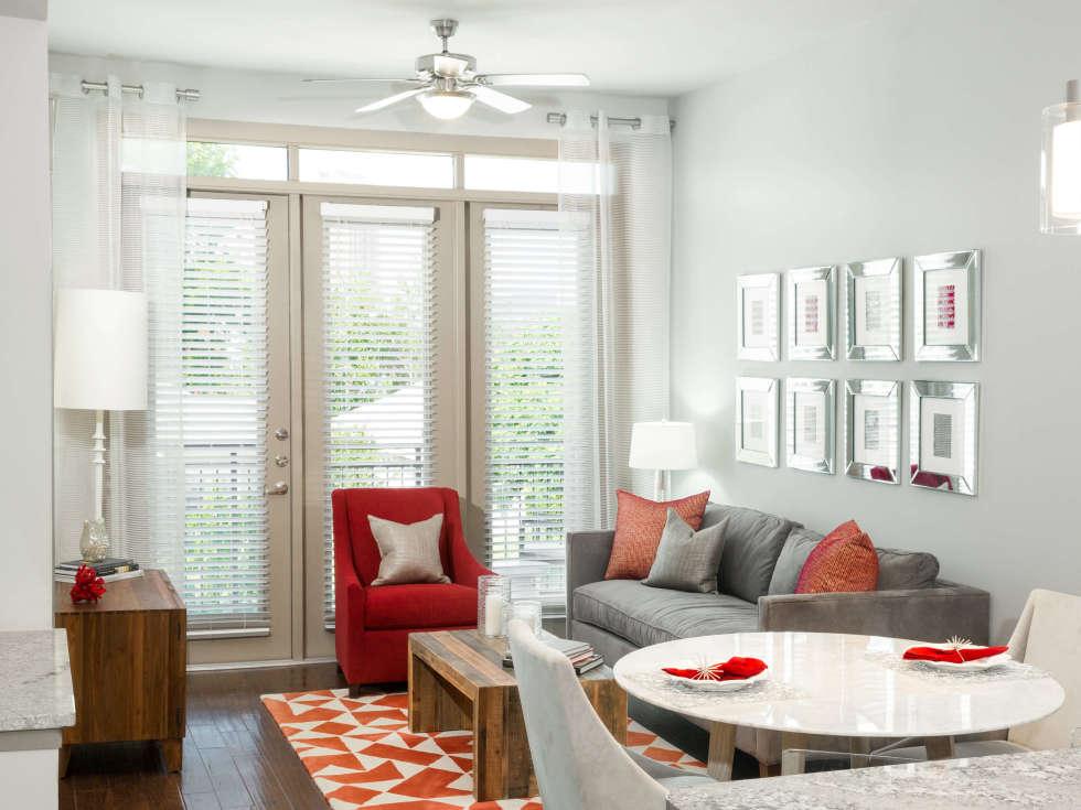 Strata Dallas living room