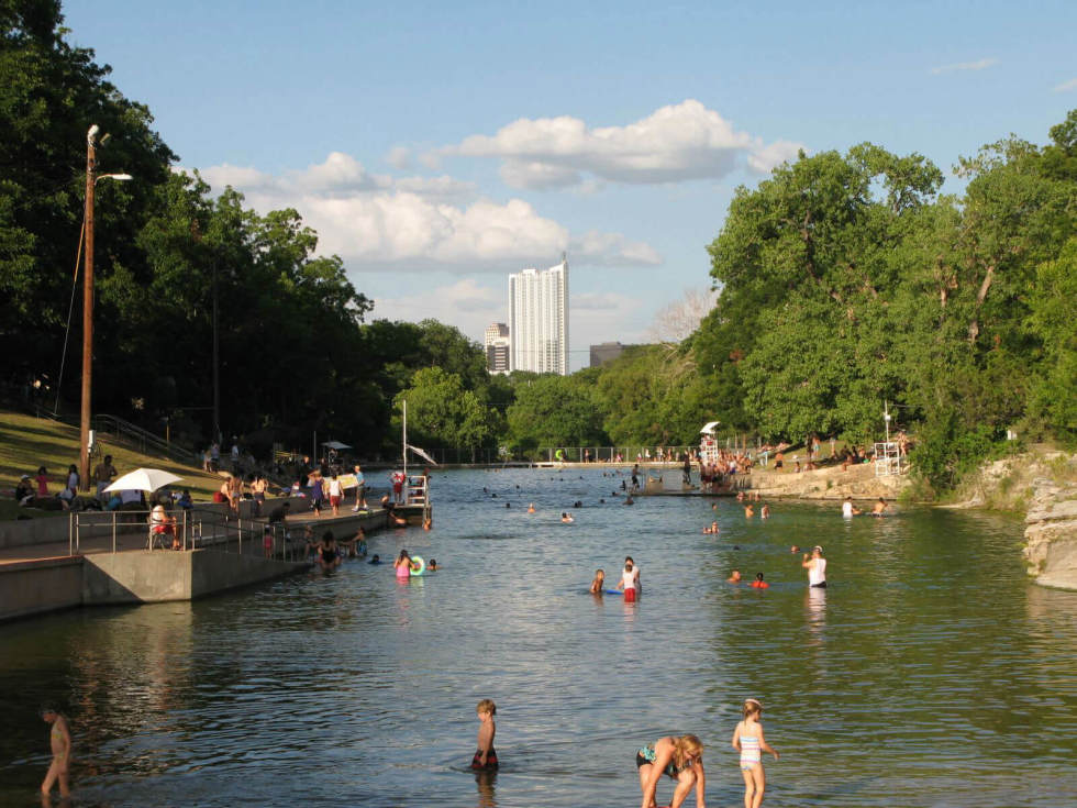 Barton Springs Pool Austin